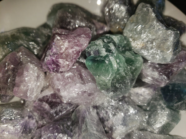 Fluorite... Rough, 35-45mm