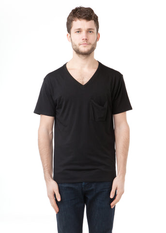 PIMA Cotton Hidden Tee Black