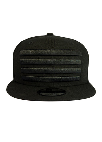 New Era Leader Snapback Black / Black
