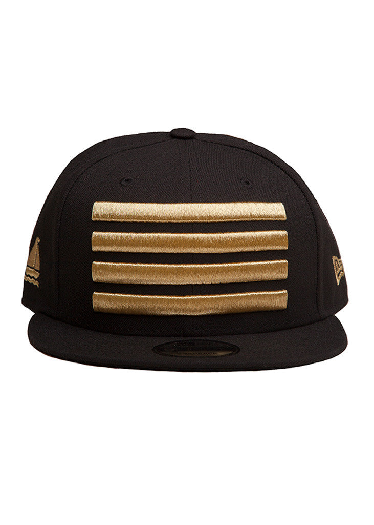 New Era Leader Snapback Black / Gold