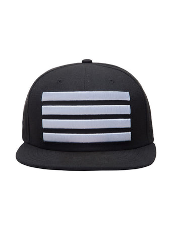 New Era Leader Fitted Hat Black