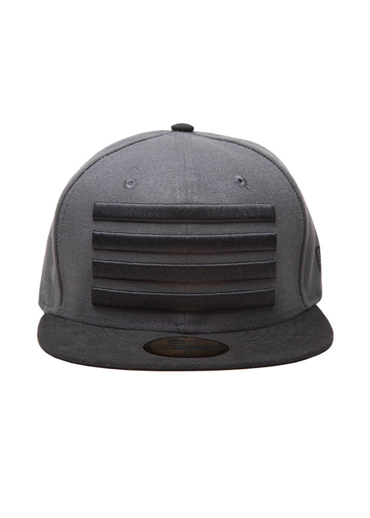 New Era Leader Fitted Hat Grey