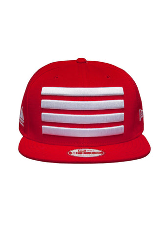 New Era Leader Snapback Red