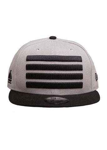 New Era Leader Snapback Light Grey