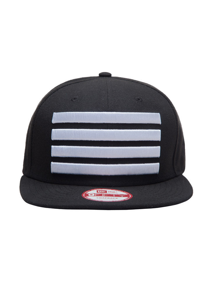 New Era Leader Snapback Black