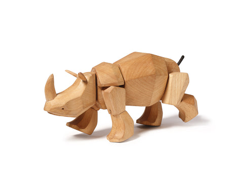 Simus the Wooden Rhinoceros