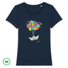 TSHIRT BIO - Boat in the sky <br> 5 couleurs
