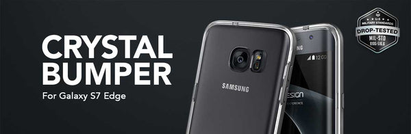 VRS Crystal Bumper for Galaxy S7 Edge
