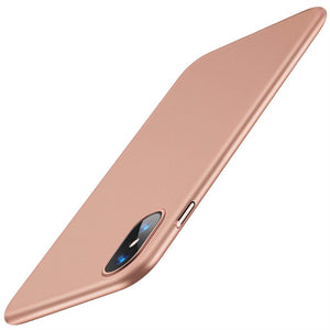 Ultra-thin Hard PC Protective iPhone Xs Max Case - Rose Gold - MyPhoneCase.com