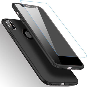 MPC 360 Thin Fit Tempered Glass iPhone X / Xs Case - MyPhoneCase.com