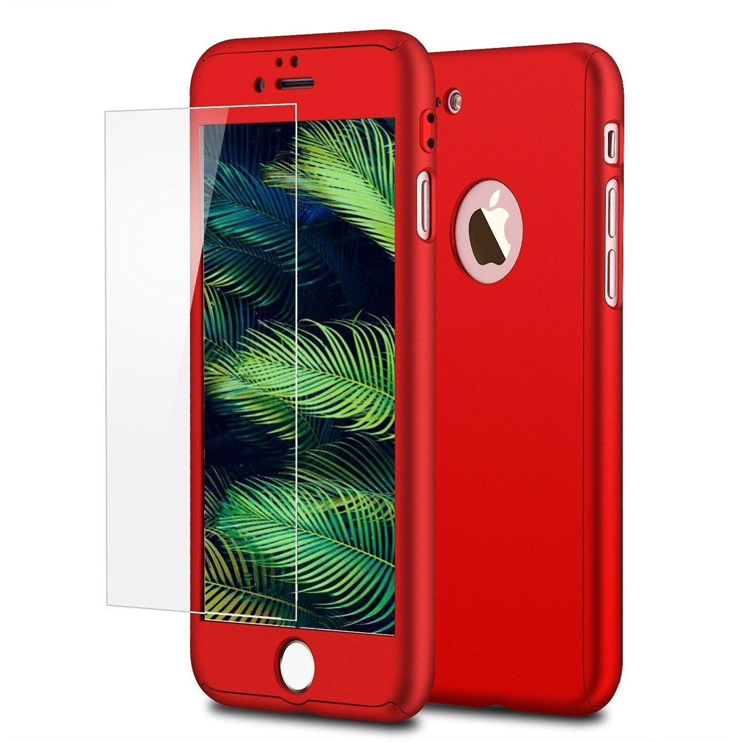 iphone 7 case red 360