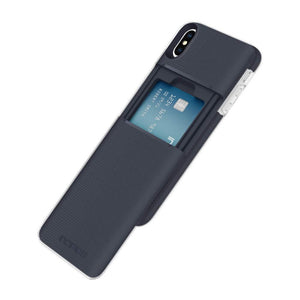 Incipio Stashback iPhone XS MAX Case - Blue - MyPhoneCase.com