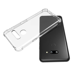 Crystal Bumper LG G8 ThinQ Case - Transparent Clear - MyPhoneCase.com