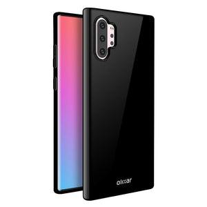 Olixar Flexible Slim Galaxy Note 10+ Plus Case - Black - MyPhoneCase.com