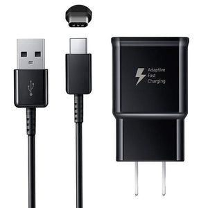 Samsung Fast Charger Adaptive Fast Charging Wall Charger w/ 4FT USB Type C - MyPhoneCase.com