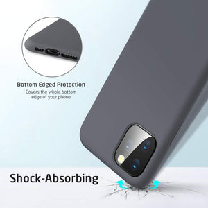 ESR Yippee Color Soft iPhone 11 Pro Case - Gray - MyPhoneCase.com