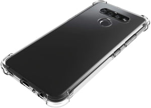 Crystal Bumper Anti Slip Protective LG K51 Case - Transparent Clear - MyPhoneCase.com