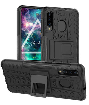 Tough Armor Kickstand Galaxy A50 (2019) Case - Black - MyPhoneCase.com