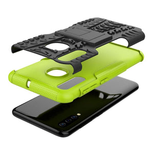 Tough Armor Kickstand Galaxy A50 (2019) Case - Green - MyPhoneCase.com