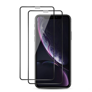 Edge to Edge Tempered Glass Screen Protector for iPhone 11 [2 Pack] - MyPhoneCase.com