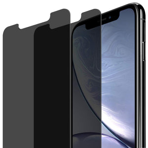 Anti Spy Privacy Tempered Glass Screen Protector iPhone XR / iPhone 11 [2 Pack] - MyPhoneCase.com
