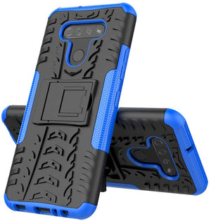 Rugged Armor Kickstand LG K51 Case - Blue