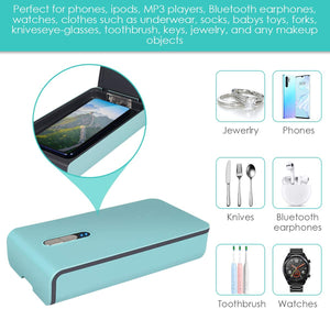 UV Lights CellPhone Sterilizer Cleaner Aromatherapy Disinfector - MyPhoneCase.com