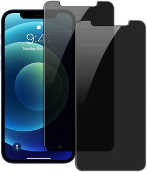 [2-Pack] Anti-Spy [iPhone 12 / 12 Pro] Tempered Glass Privacy Screen Protector - MyPhoneCase.com