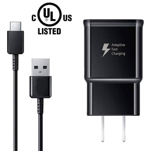 USB Type C Charger Cable and Adaptive Fast Charging Wall Charger Adapter Kit - MyPhoneCase.com