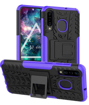 Tough Armor Kickstand Galaxy A50 (2019) Case - Purple - MyPhoneCase.com