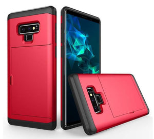 Essential Hybrid Armor Wallet Galaxy Note 9 Case - MyPhoneCase.com