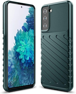 "Rugged Armor LT Series Galaxy S21 5G (6.2"") Case - Midnight Green"