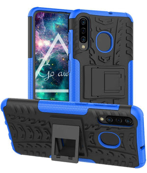 Tough Armor Kickstand Galaxy A50 (2019) Case - Blue - MyPhoneCase.com