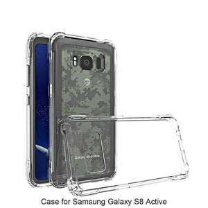 MPC Reinforced Corners Bumper Galaxy S8 Active Case - Clear - MyPhoneCase.com