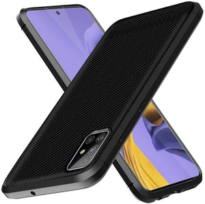 Slim Carbon Anti-Slip Shock Absorber Galaxy A51 (Not 5G) Case - MyPhoneCase.com
