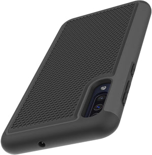 Grippy Dual Shock-proof Galaxy A50 (2019) Case - Black - MyPhoneCase.com