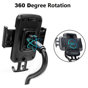 Car Cup Holder Phone Mount Holder Adjustable Gooseneck Cradle - MyPhoneCase.com