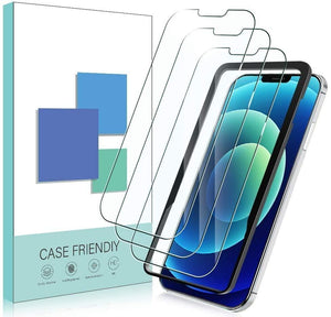 [3-Pack] Anti-Scratch [iPhone 12 / 12 Pro] Tempered Glass Screen Protector - MyPhoneCase.com
