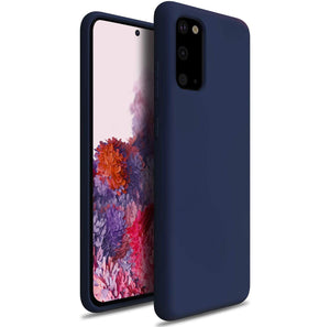 Nano Silicone Liquid Crystal Galaxy S20 Case - Midnight Blue