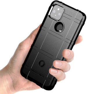 Heavy Duty Rugged Shield Google Pixel 5 (2020) Case - Black