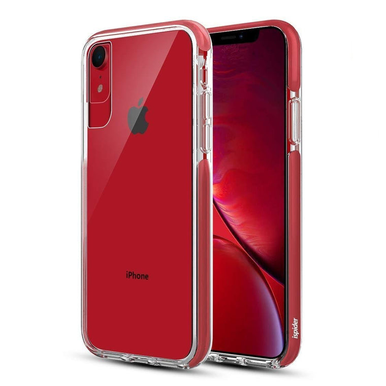 Ispider Crystal Bumper Apple iPhone XR Case - Red