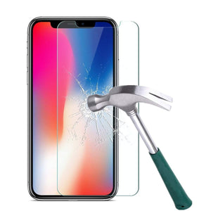 Case Friendly Screen Protector Tempered Glass for iPhone X / XS (3 Pack) - MyPhoneCase.com
