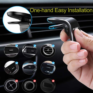 Magnetic Air Vent Car Phone Mount Holder Universal Cell Phone Holder - MyPhoneCase.com
