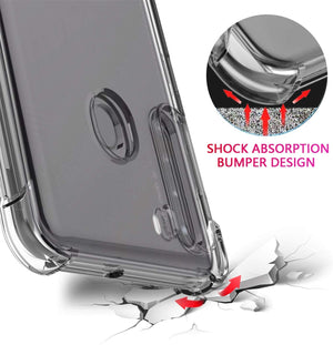 Shockproof Bumper Galaxy A21 (2020) Case - Transparent Clear - MyPhoneCase.com