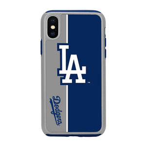Official MLB Shock-Proof iPhone X / Xs Case - LA Dodgers #1 - MyPhoneCase.com