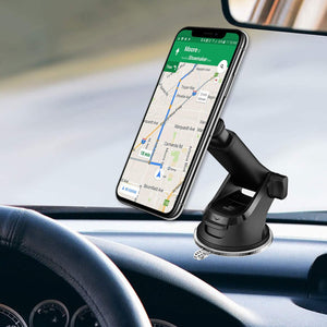 Dashboard Windshield Telescopic Long Arm Magnetic Car Mount Phone Holder