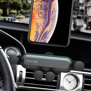 Gravity Air Vent Cell Phone Holder Car Mount for 4.7 to 6.7 in - MyPhoneCase.com