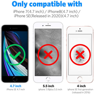 MK Highly Transparent Superior TPU iPhone SE 2nd (2020) Case - Crystal Clear - MyPhoneCase.com