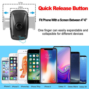 Air Vent Car Phone Holder Universal 360°Rotation Cell Phone Holder - MyPhoneCase.com