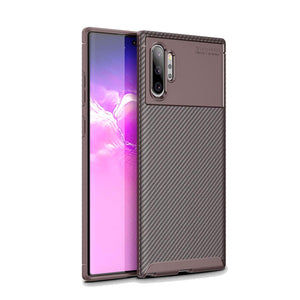 Ultra Thin Carbon Armor Galaxy Note 10 Case - Brown - MyPhoneCase.com